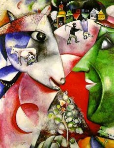 I-and-the-village-Chagall
